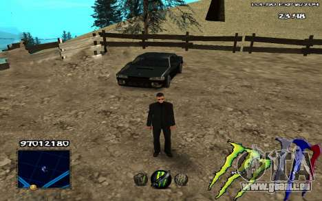 C-HUD Monster Energy für GTA San Andreas