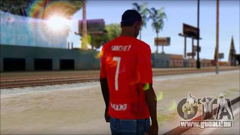 Seleccion Chilena T-Shirt 2010 pour GTA San Andreas deuxième écran