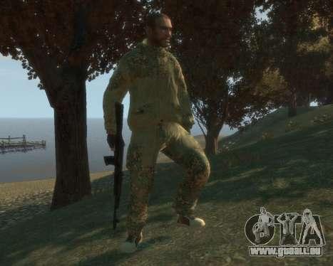 Russe camouflage pour GTA 4 secondes d'écran