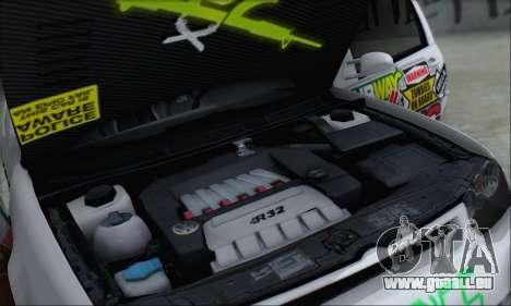 Volkswagen Golf MK4 R32 für GTA San Andreas Motor