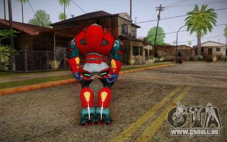 Red Elite v2 pour GTA San Andreas deuxième écran