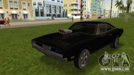 Dodge Charger RT Street Drag 1969 für GTA Vice City