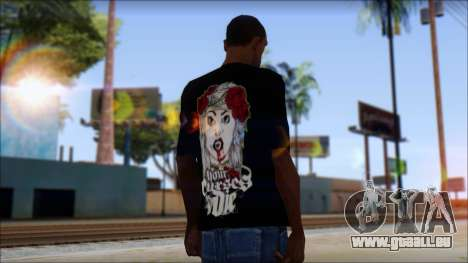 Your Curses Die Fan T-Shirt pour GTA San Andreas deuxième écran