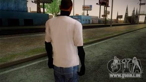 Supreme T-Shirt pour GTA San Andreas deuxième écran