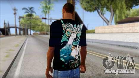 Eskimo Callboy Fan T-Shirt pour GTA San Andreas deuxième écran