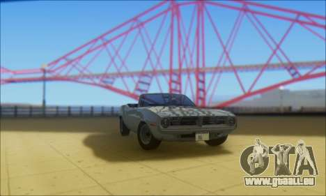 Plymouth Cuda 1970 Stock für GTA San Andreas
