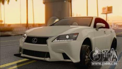 Lexus GS350 für GTA San Andreas linke Ansicht