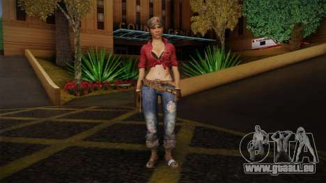Misty from Call of Duty: Black Ops pour GTA San Andreas