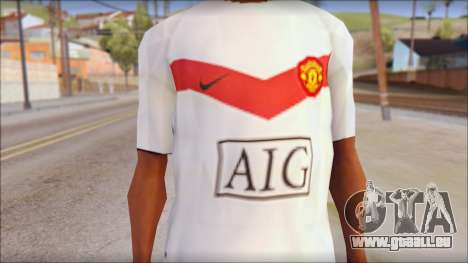 Manchester United Shirt für GTA San Andreas dritten Screenshot