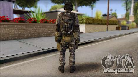 Urban GAFE from Soldier Front 2 pour GTA San Andreas deuxième écran