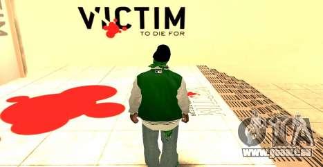 Grove Street Gang Skin pack für GTA San Andreas zweiten Screenshot