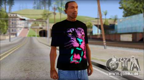 Wild POP Thing Shirt pour GTA San Andreas