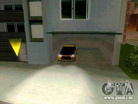 Nissan GT-R für GTA San Andreas rechten Ansicht