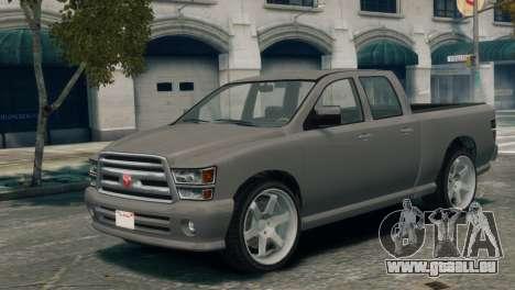 GTA V Bravado Bison pour GTA 4