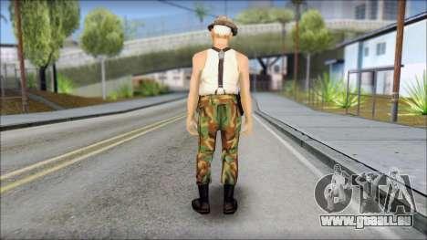 Teniente Armstrong pour GTA San Andreas deuxième écran