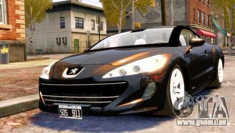 Peugeot RCZ für GTA 4