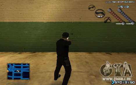 C-HUD by SampHack v.6 pour GTA San Andreas deuxième écran
