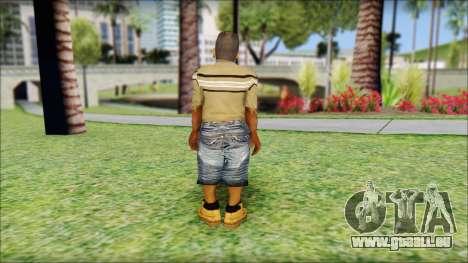 CJ Dwarf v2 pour GTA San Andreas deuxième écran