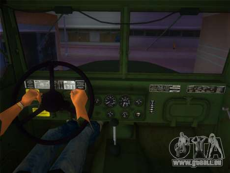 AM General M35A2 1986 für GTA Vice City zurück linke Ansicht