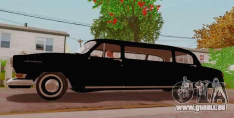 GAZ 21 Limousine für GTA San Andreas linke Ansicht