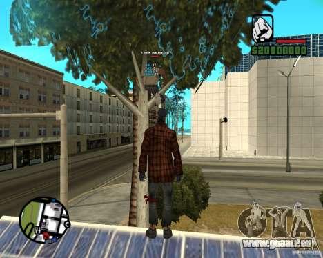 Players Informer pour GTA San Andreas deuxième écran
