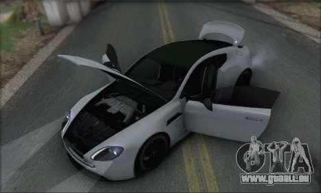 Aston Martin V12 Vantage S 2013 für GTA San Andreas Innen