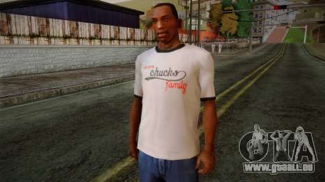 Chucks Anon Family T-Shirt für GTA San Andreas