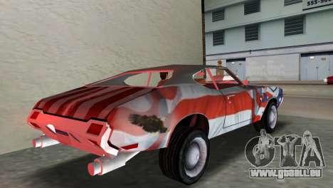 Oldsmobile 442 1970 v2.0 für GTA Vice City linke Ansicht