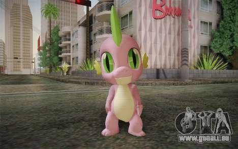 Spike from My Little Pony Friendship pour GTA San Andreas