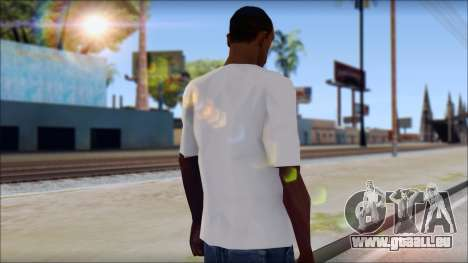 Slash T-Shirt für GTA San Andreas zweiten Screenshot