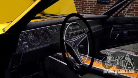 Dodge Charger RT 1969 EPM pour GTA 4 est une vue de dessous