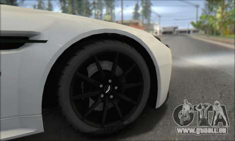 Aston Martin V12 Vantage S 2013 für GTA San Andreas obere Ansicht