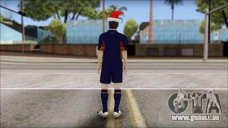 Messi Arsenal Christmas Special pour GTA San Andreas deuxième écran