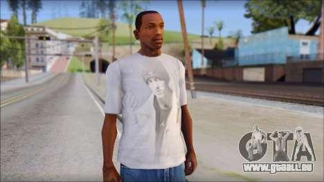 Eminem T-Shirt für GTA San Andreas
