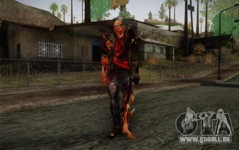 Zombie Heller from Prototype 2 pour GTA San Andreas