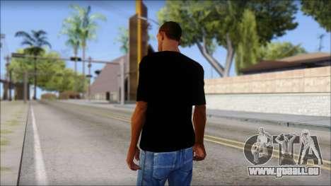 Stiff Little Fingers T-Shirt für GTA San Andreas zweiten Screenshot