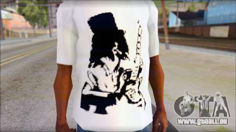 Slash T-Shirt für GTA San Andreas dritten Screenshot