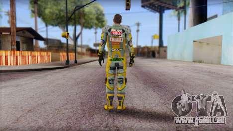 Piers Amarillo no Gorra für GTA San Andreas zweiten Screenshot