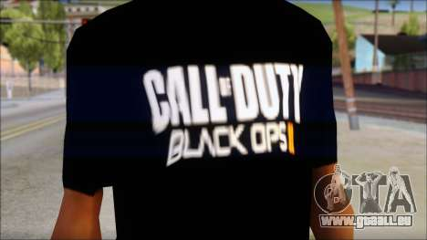 COD Black Ops 2 Fan T-Shirt für GTA San Andreas dritten Screenshot