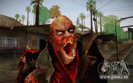 Zombie Heller from Prototype 2 pour GTA San Andreas troisième écran