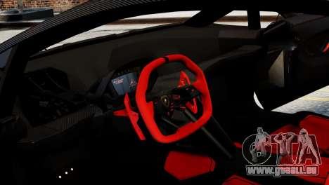 Lamborghini Sesto Element 2011 pour GTA 4 Vue arrière de la gauche