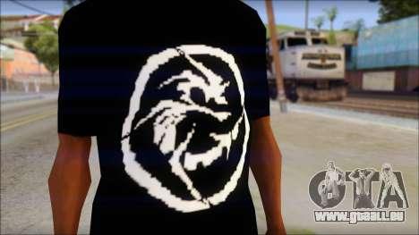 E Logo T-Shirt für GTA San Andreas dritten Screenshot