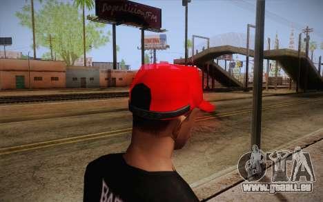 Super Mario Cap pour GTA San Andreas deuxième écran