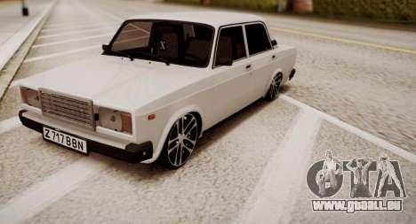 VAZ 2107 Mansory pour GTA San Andreas
