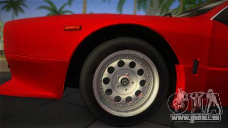 Lancia Rally 037 1982 für GTA Vice City rechten Ansicht