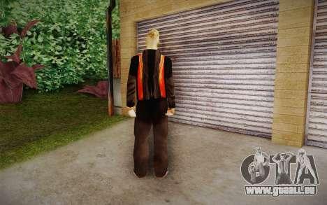 Corey Taylor Skin pour GTA San Andreas deuxième écran