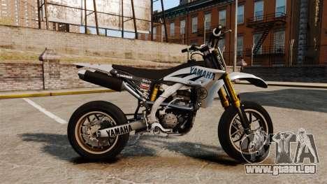 Yamaha YZF-450 v1.6 pour GTA 4 est une gauche