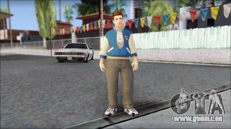 Ted from Bully Scholarship Edition pour GTA San Andreas deuxième écran