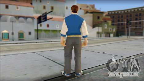 Ted from Bully Scholarship Edition pour GTA San Andreas troisième écran