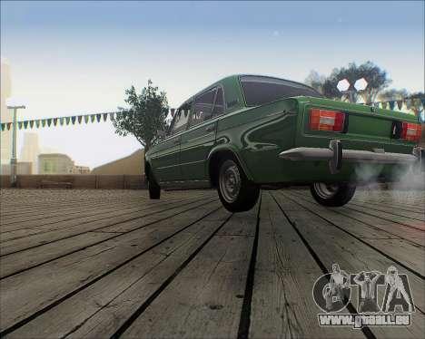 VAZ 2106 Accordables pour GTA San Andreas laissé vue